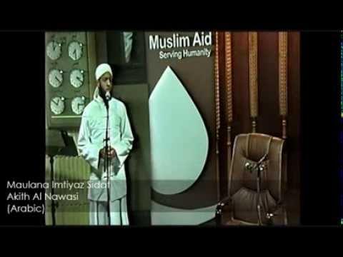 MAULANA IMTIYAZ SIDAT - AKITH AL NAWASI (ARABIC)