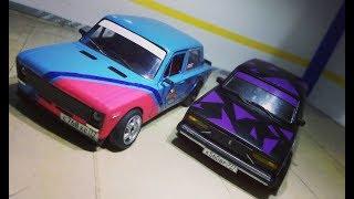 Ваз 2105 Клим(Камуфляж) и Ваз 2106 Дорожный бегун. Модели Kaito#1