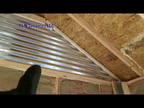 How to build a 12x20 Shed Part3: Walls & Insulation