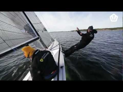 Admiralty 30  --  Torvar Mirsky testing the worlds craziest 30-footer