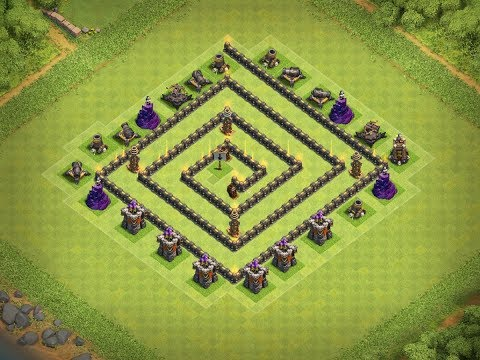 CAN YOU ESCAPE?!? | Clash Of Clans | TRAP BASE!!