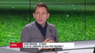 """VIDEO: """"Le Graët a relayé maladroitement le message de Deschamps sur Benzema"""" soutient Riolo"""