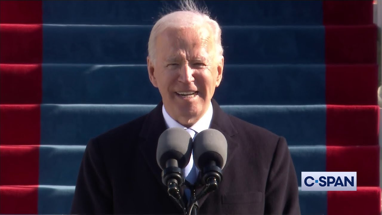 President Joe Biden 2021 Inaugural Address
