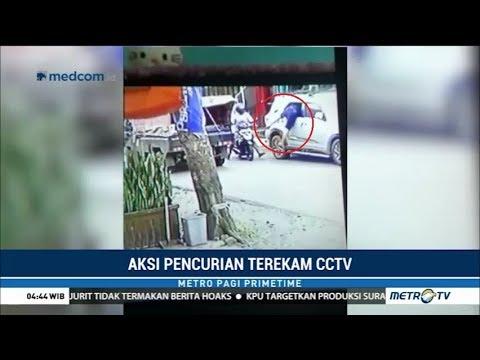Aksi Pencurian Modus Pecah Kaca Mobil di Bengkulu Terekam CCTV Mp3