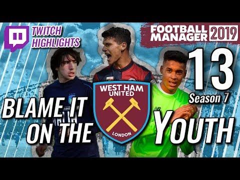 FM19 West Ham S7 Ep 12 - MAN UTD & ATLETICO - TWITCH RECAP