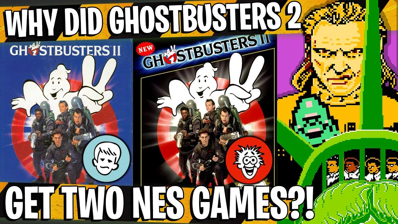 A tale of two different Ghostbusters II video games