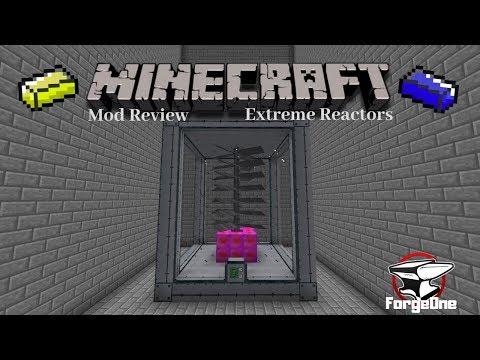 Minecraft Mod Review - Extreme Reactors - Turbine Set Up