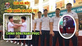 Trầm trồ nhìn Quang Hải tâng bóng, Đức Huy ăn bưởi làm náo loạn nữ sinh Hà Nội | Ted Trần TV