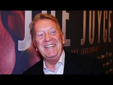 Frank Warren EXCLUSIVE: WHYTE should be FIGHTING JOSHUA; we have better heavyweights