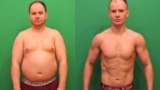 Трансформация тела! Минус 22кг за 80 дней! Я сделал это!