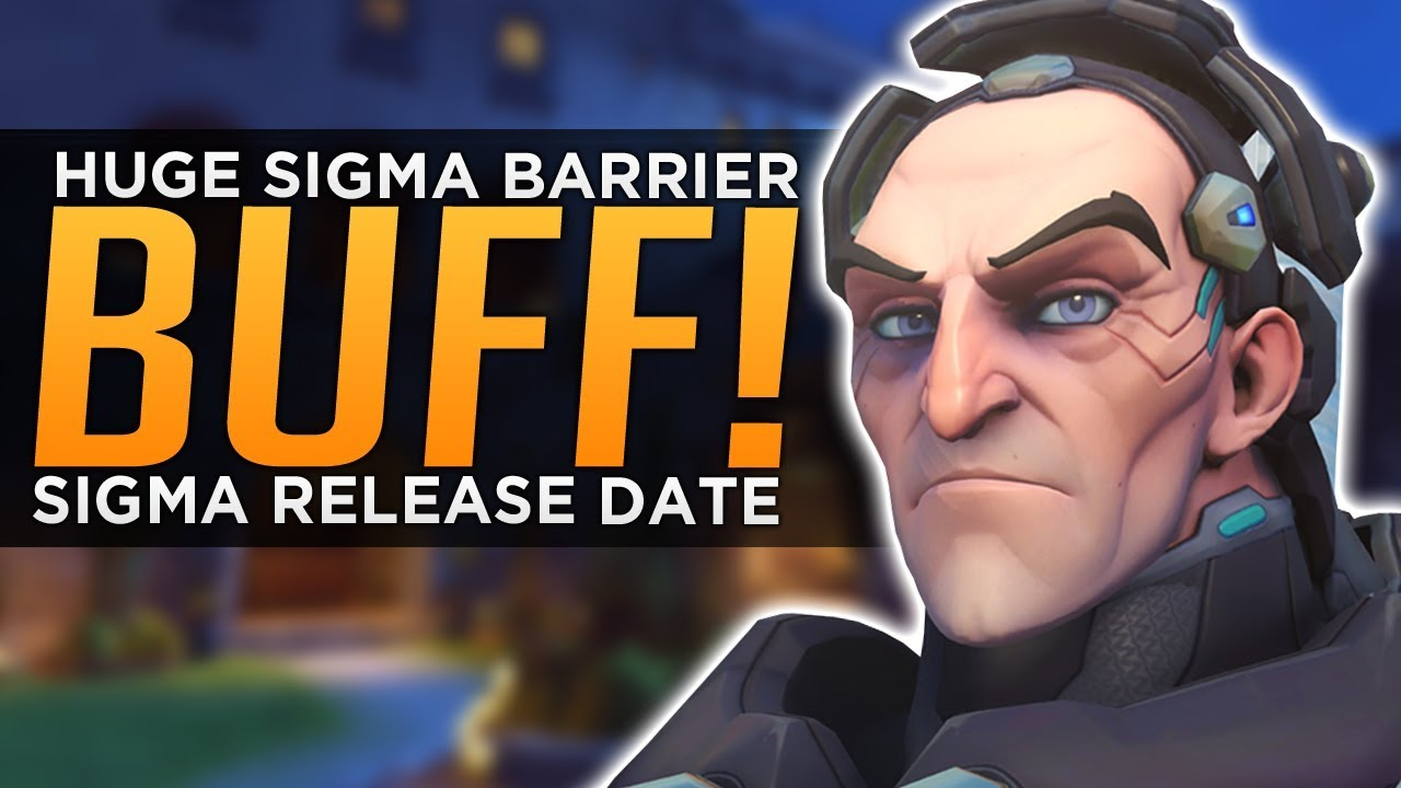 Overwatch: HUGE Sigma Barrier BUFF! - Role Queue & Hero 31 Release Date thumbnail