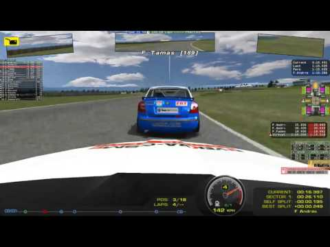 LIVE - WHO WILL BE THE CHAMPION? - rFactor - Manfield Skoda Cup - Race 2