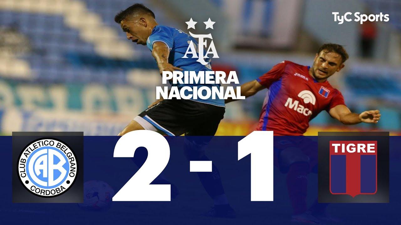 Belgrano 2-1 Tigre | Primera Nacional