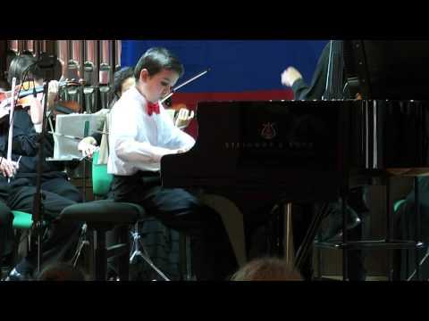 Beethoven - concert No. 1, 1st movement - Egor Oparin