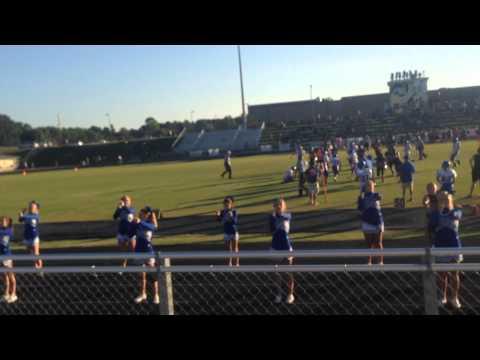 Harpeth Middle School Cheerleaders 2015-16