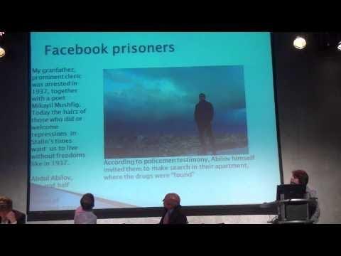 Khadija Ismayilova - Towards a Europe without political prisoners - Berlin (2 Jun 2014)