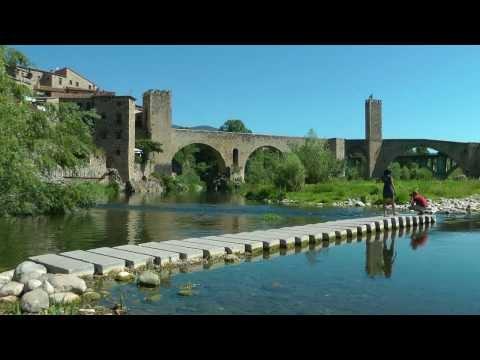 SPAIN Besalu, Cataluna (hd-video)