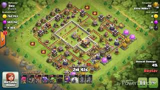 TH9 Vs MAX TH11 | TH9 Trophy Pushing with BabyLoon | TH9 Pushing to Legend League |