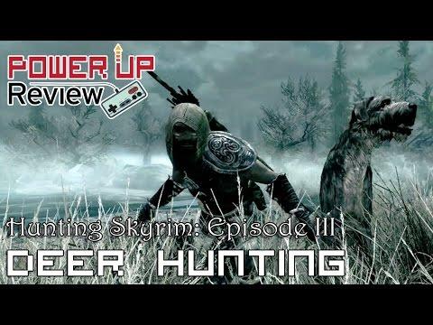 Hunting Skyrim: Episode 3 - Deer Hunting (The Elder Scrolls V: Skyrim Gameplay)
