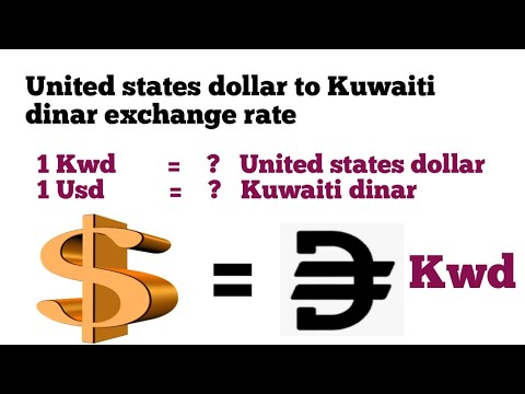 United States Dollar To Kuwaiti Dinar Exchange Rate Today | Usd To Kwd