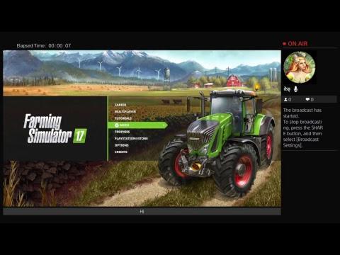 Farming simulator 17 gameplay