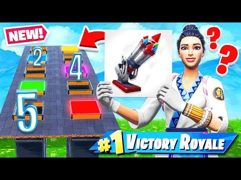 NEW BOTTLE ROCKETS Random DROPPER Game Mode in Fortnite Battle Royale