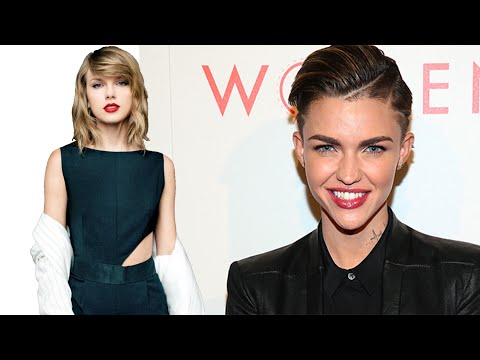 Ruby Rose Reveals Taylor Swift Girl Crush! | Hollywire