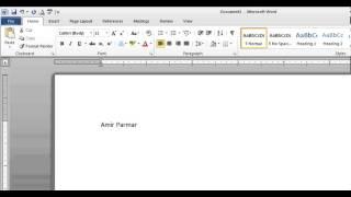 Hindi Microsoft Word pt 1 (Enter, Edit, Backspace, Save, Print)