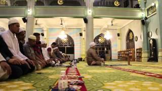 SolatTerawih Rakaat 01-04 Masjid Sultan Of SIngapore 09 Ramadhan 2015/1436