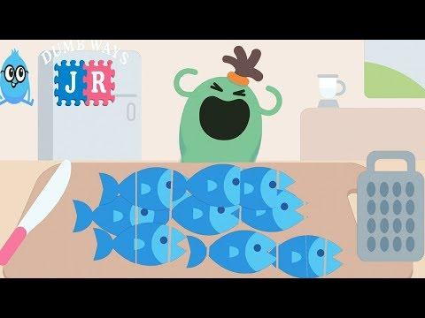 Kids Learn Cooking Kitchen Games - Fun Making Traditional Breakfast | Dumb Ways JR Boffo's Breakfast