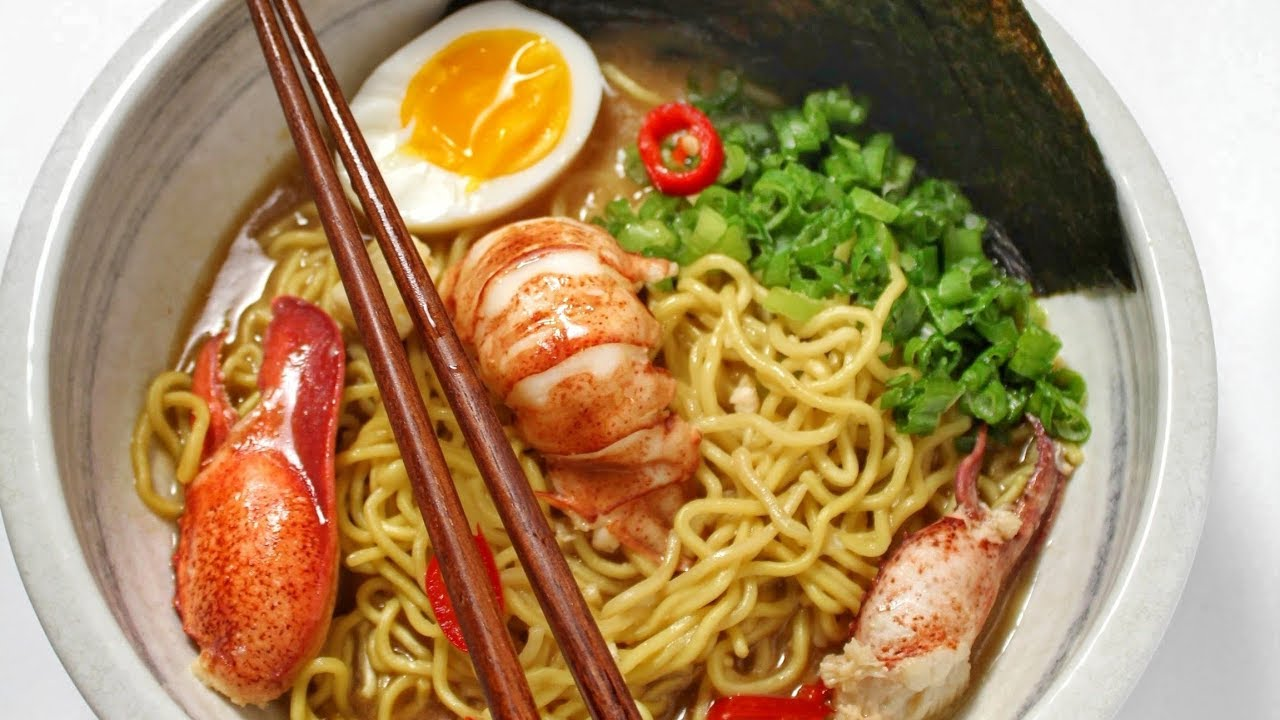 How To Make EASY Lobster Ramen - YouTube