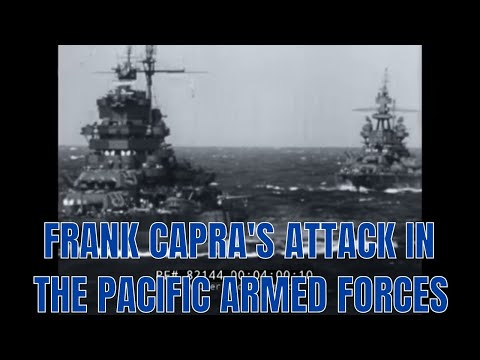 FRANK CAPRA'S ATTACK IN THE PACIFIC   ARMED FORCES INFORMATION FILM #3 1950 82144