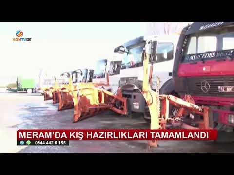 MERAM'DA KIŞ HAZIRLIKLARI TAMAMLANDI