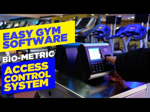 Bio metric software for gym & fitness studio