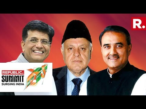 Piyush Goyal, Dr Farooq Abdullah And Praful Patel Discuss Whether Consensus Is Possible Before 2019