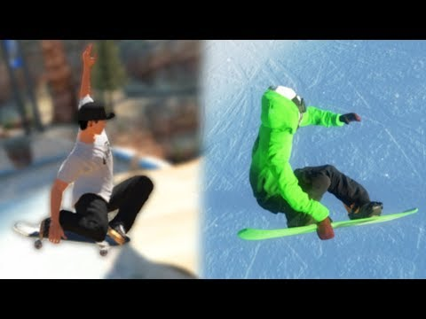 The Skate 3 of Snowboarding Games | Mark McMorris: Infinite Air