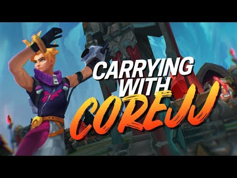 Doublelift - HARD CARRYING (feat. COREJJ)