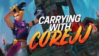 Doublelift - HARD CARRYING (feat. COREJJ)