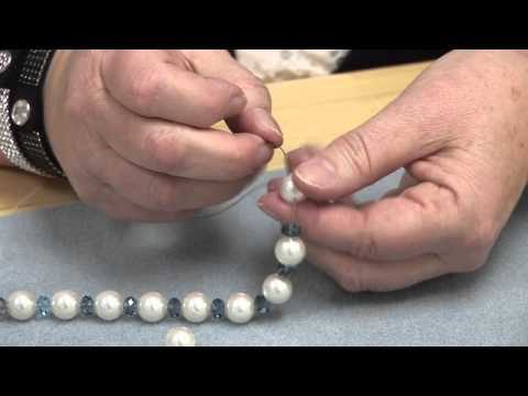 How To Finishing A Strung Bracelet
