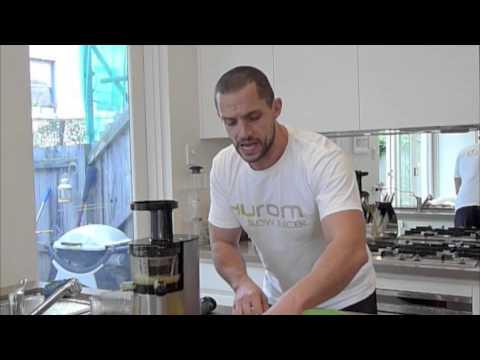Centrika Slow Juicer Review : HUROM SLOW JUICER DUBAI- HU 500 Doovi