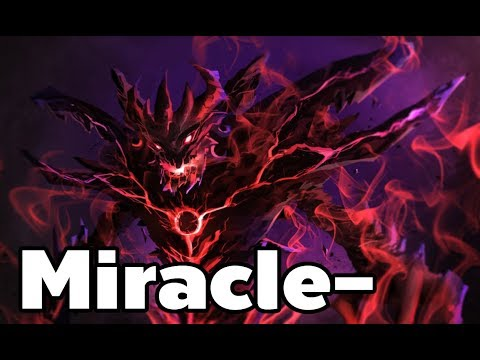 Miracle - Pro Shadow Fiend Rank MMR Game