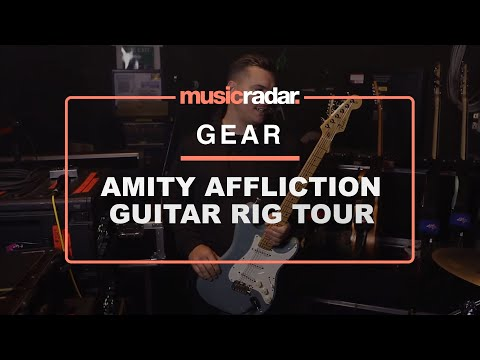 Rig tour: The Amity Affliction's Dan Brown shows us his stealth metal Strats