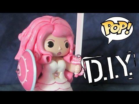 "Making a 6"" POP! Custom of Rose Quartz, DIY Funko"