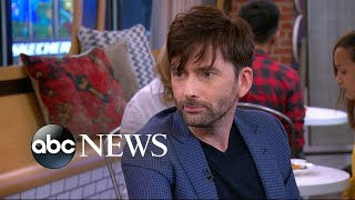 Former 'Doctor Who' star David Tennant praises the new doctor, Jodie Whittaker