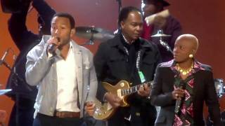 Angélique Kidjo & John Legend - Move On Up (2010 FIFA World Cup™ Kick-off Concert)