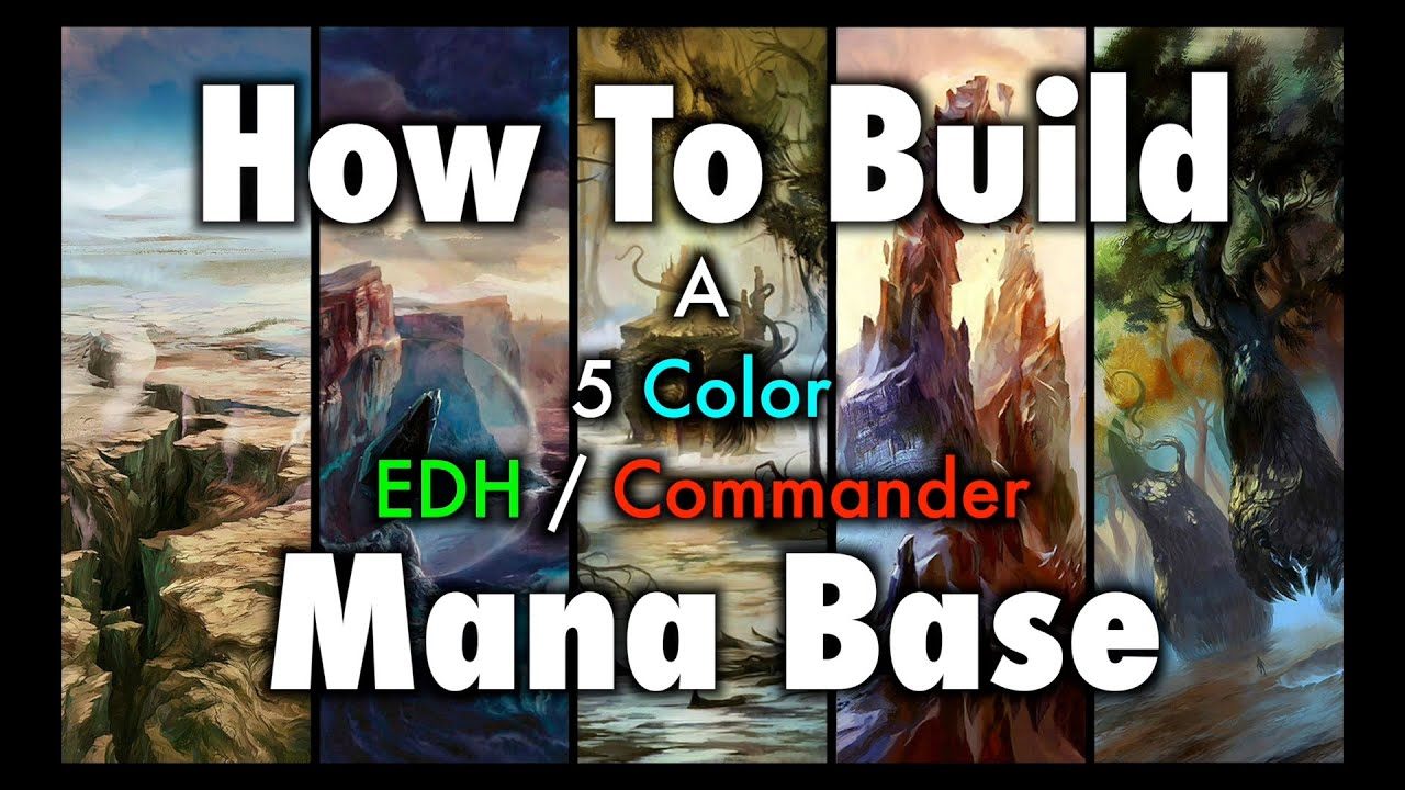 Commander Mana Base For Magic: The  Gathering