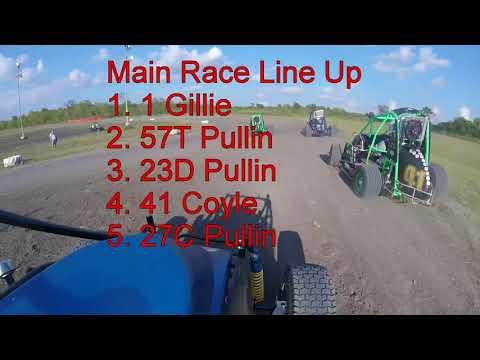 Gulf Coast Speedway 9/23/17 Sportsman Sprint