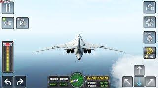 "Flight Simulator ""Super Sonic War Plane"" Open World Map - Android Gameplay FHD #10"