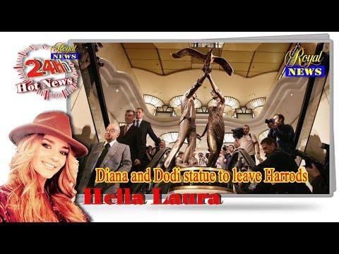 RoyalNews - Diana and Dodi statue to leave Harrods