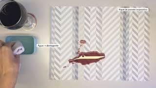 Limpeza Papel de Parede - Vinho - HOUSED Wallpapers